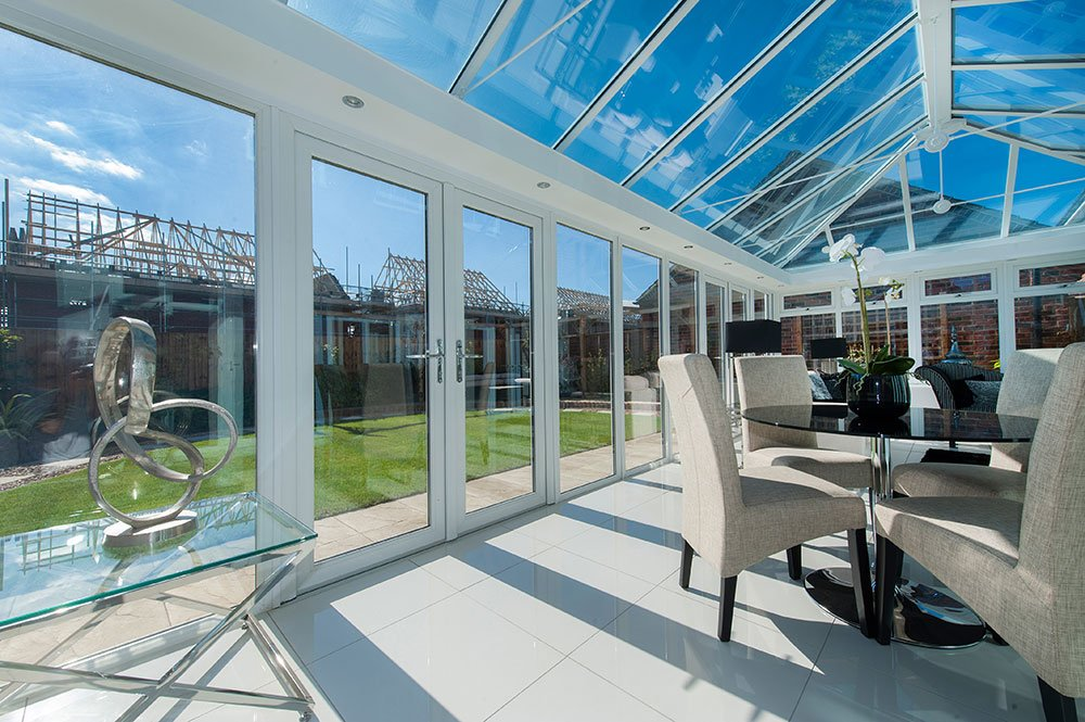 uPVC extension