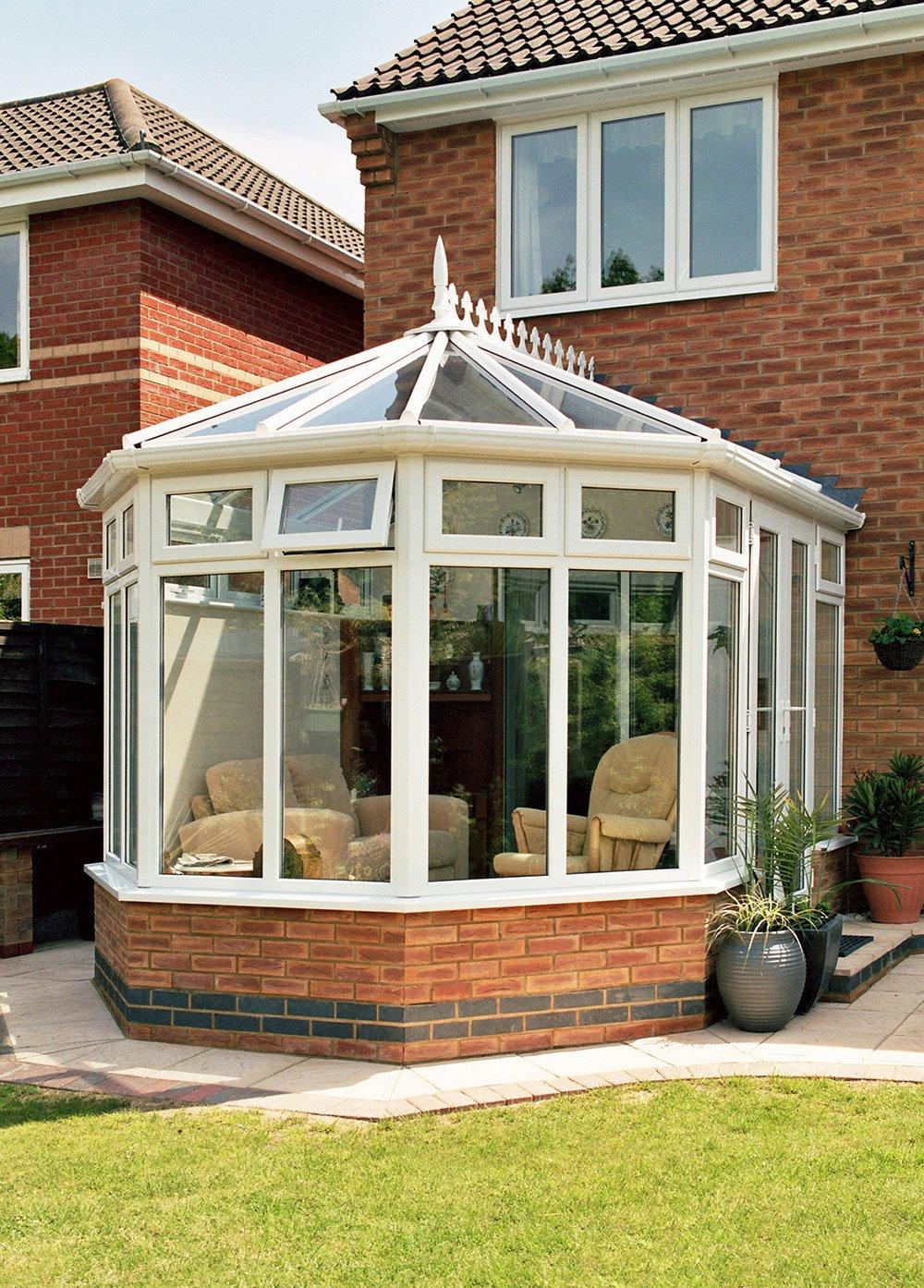 Fully glazed conservatories