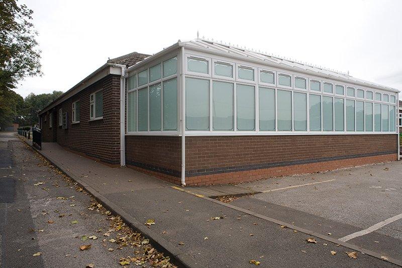 Fernwood School conservatory