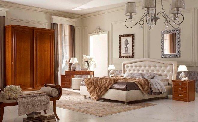 Arredo interni mantova arredamenti ponzoni - Camera matrimoniale classica ...