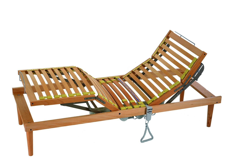 letto con doghe in legno pieghevole