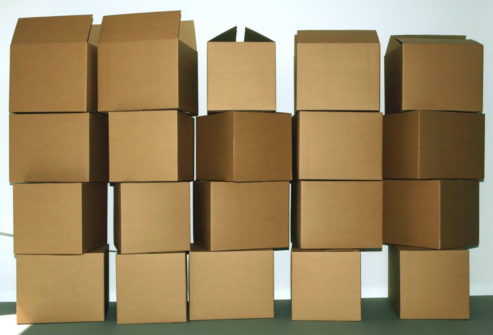 Cajas de cart n corrugado impresas - Cajas de mudanza ...