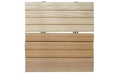 wood and aluminium shutter