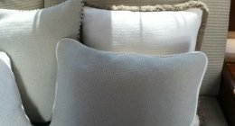 tessuti per arredamento, cuscini, panche, pouff, imbottiture