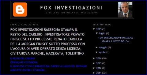 blog fox investigazioni