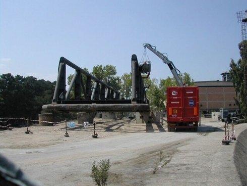 camion per demilizioni