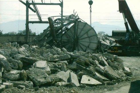 demolizione strutture in cemento