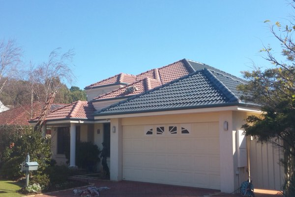 One Of Our Roof Restorations In Progress In Perth