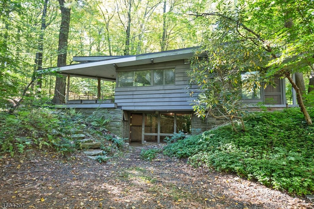 Mid-Century Modern home saved from wrecking ball.
