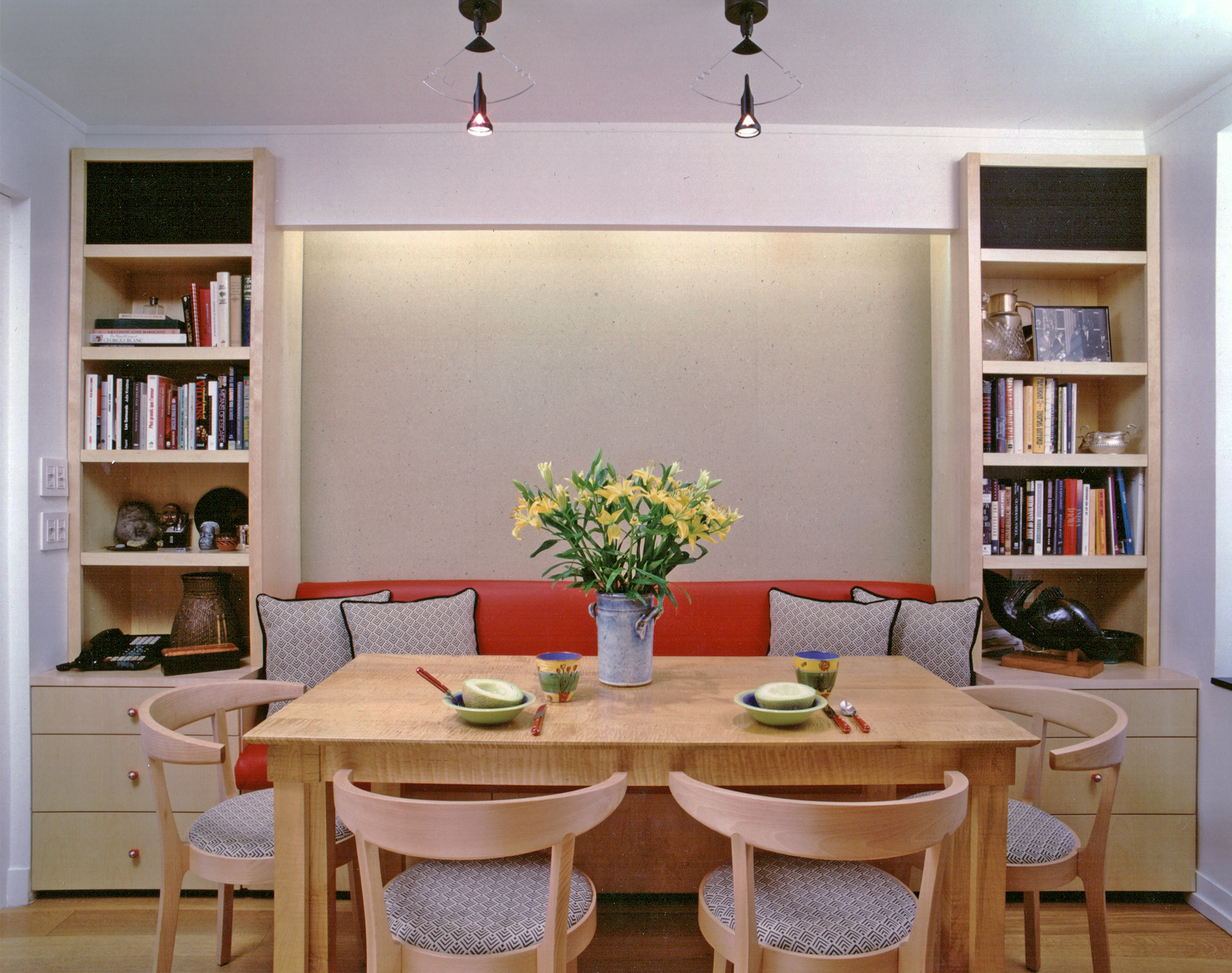 Modern residential architecture. Millwork and Cabinetry