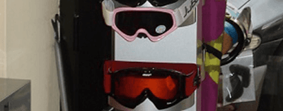 occhiali sci