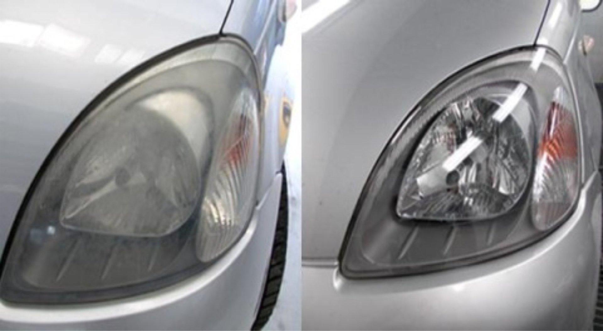 lucidatura di un auto
