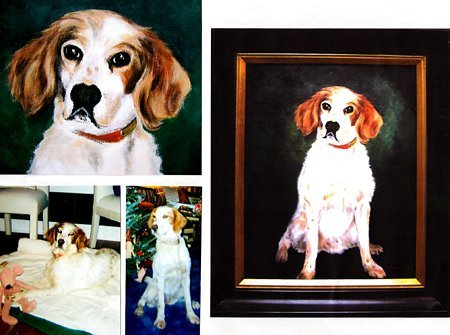 Examples of Commissioned artwork