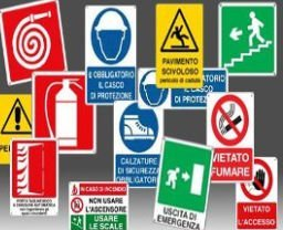 dei simboli di emergenza