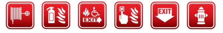 loghi di emergenza antincendio