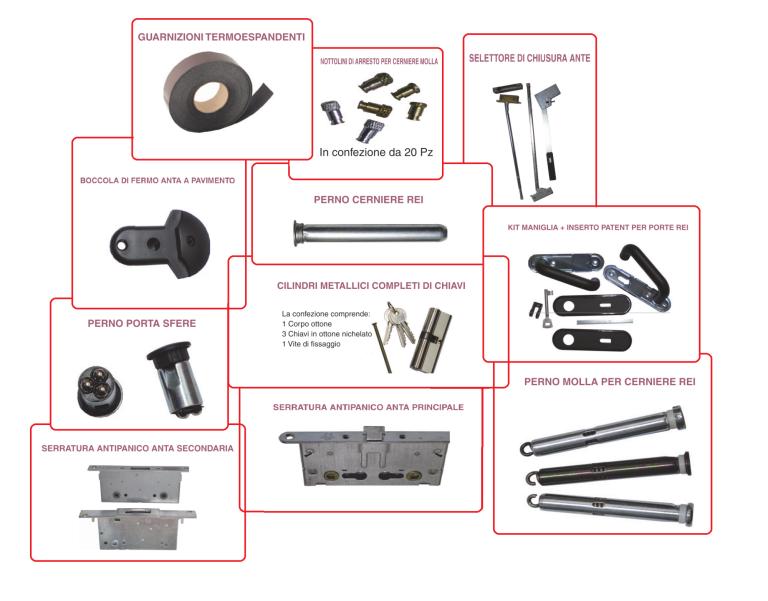 degli oggetti da ferramenta