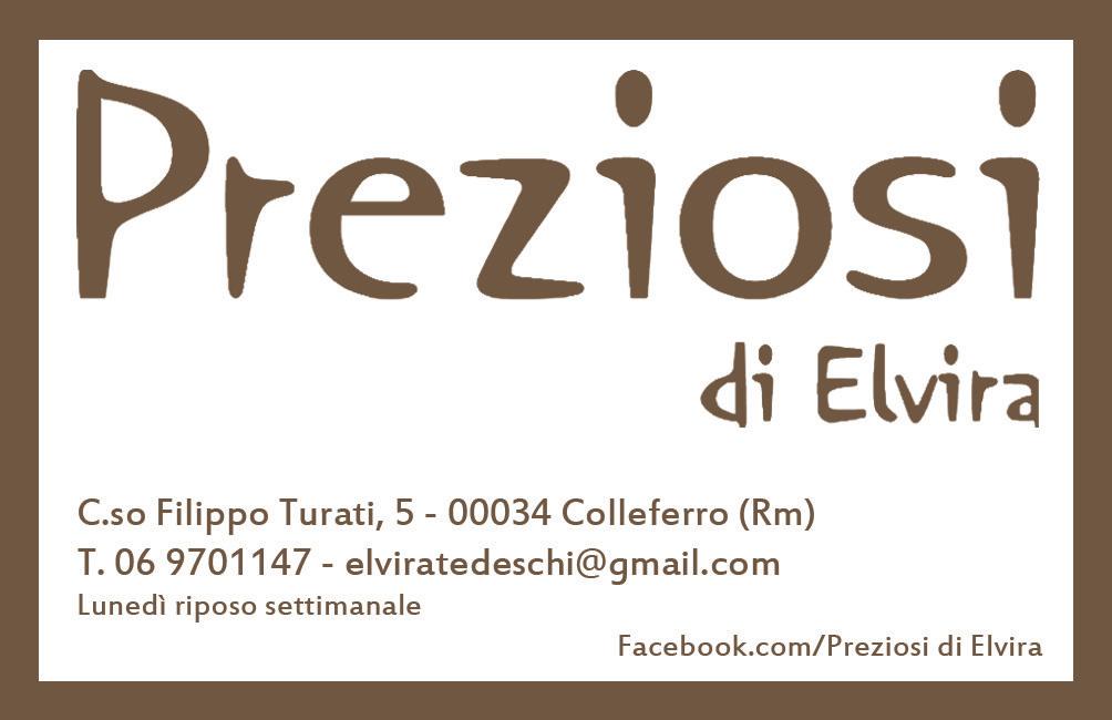 Preziosi di Elvira Corso Turati 5 Colleferro