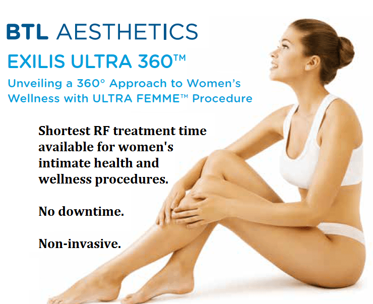 Introducing ...The Vagina Lift with Exilis Ultra Femme