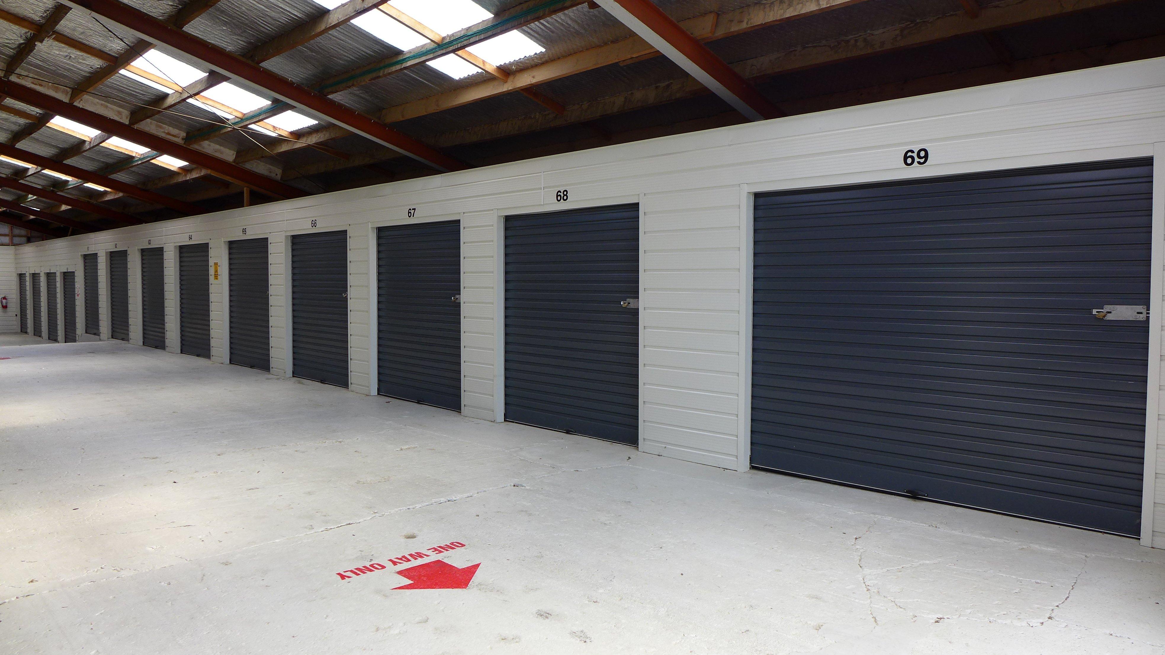 Secure storage cabins