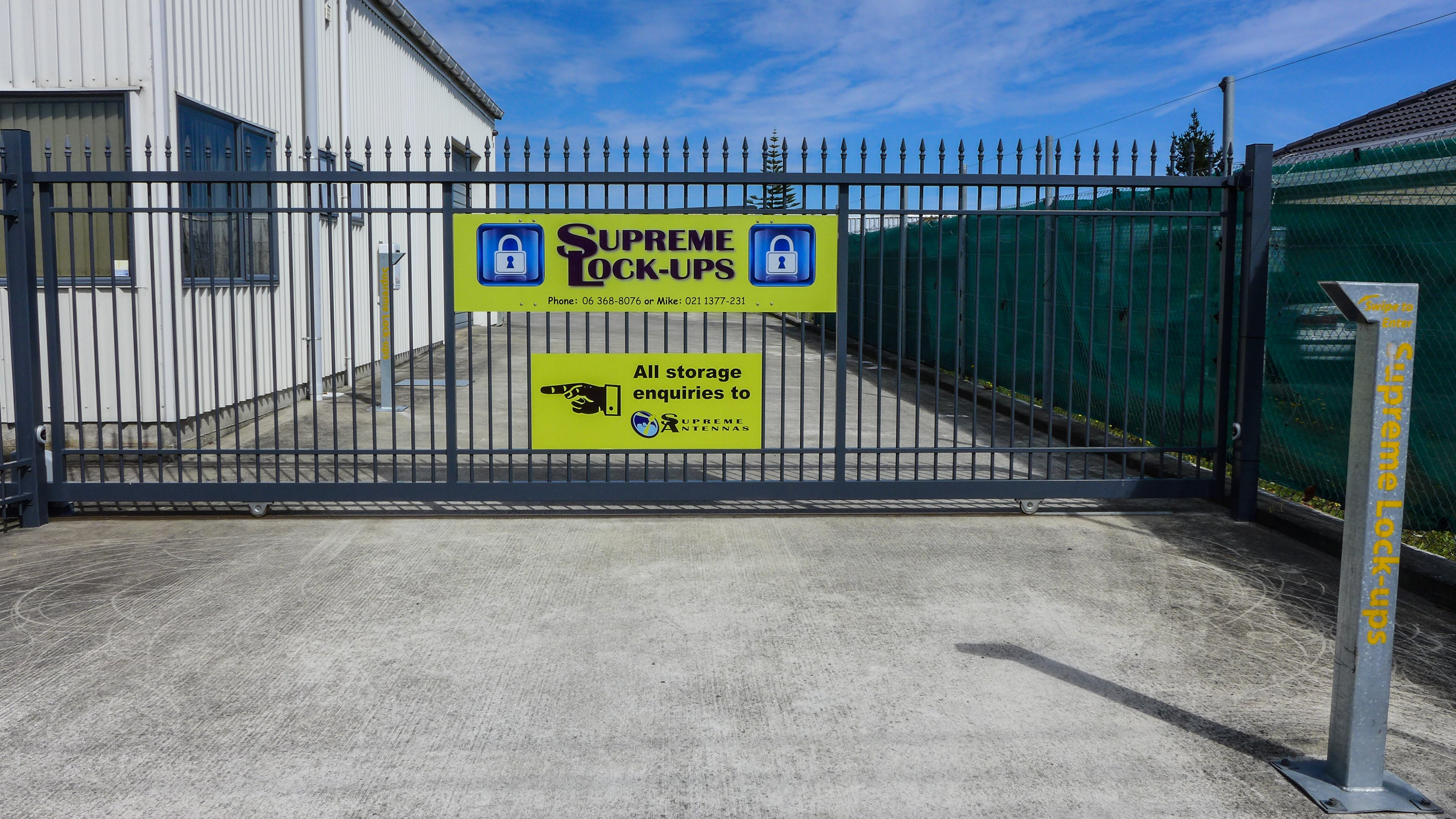 storage lockup or container at Supreme Lock-ups