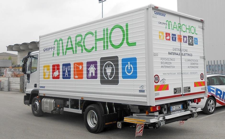 decorazione furgoni rigidi Marchiol