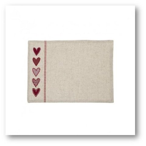 HEART placemat SIA HOME FASHION