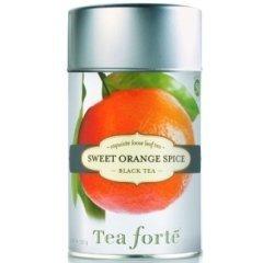 Tè nero arancia e cannella