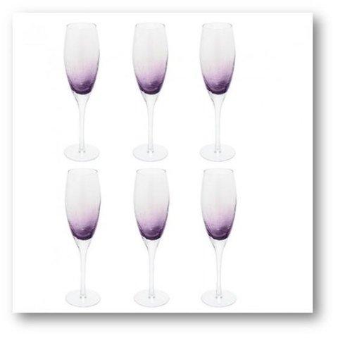 ALBA champagne glass 831208 SIA HOME FASHION