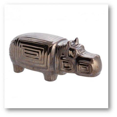 Decoration hippopotamus