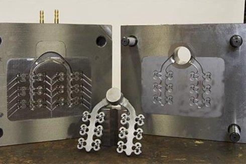 stampo in alluminio per poliuretani rigidi