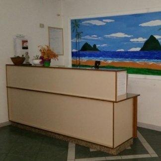 reception della casa di cura