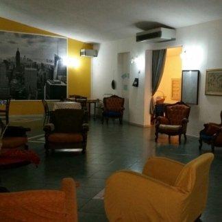 salotto interno della casa di cura