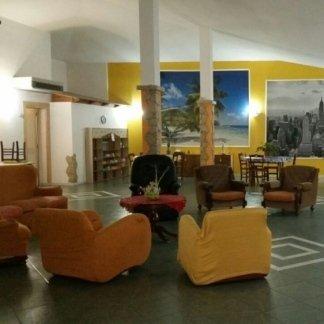 salotto e area intrattenimento