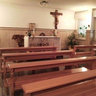 chiesa all'interno  della casa di cura