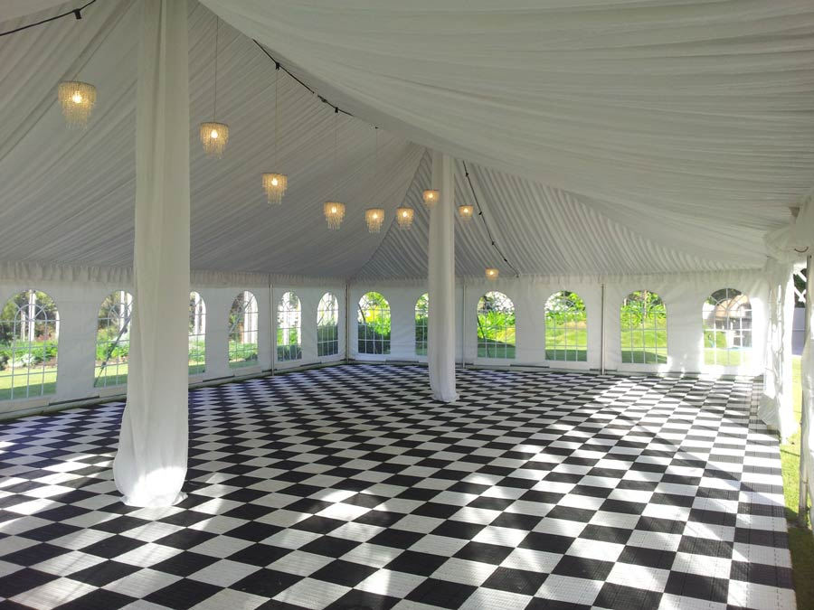 Flooring and staging hire
