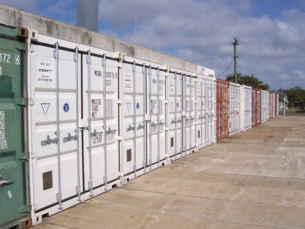 Many containers