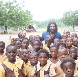 African school children