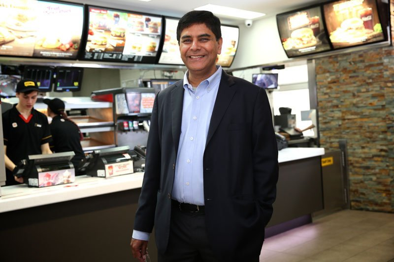 Hungry Jacks CEO Mr Sharma