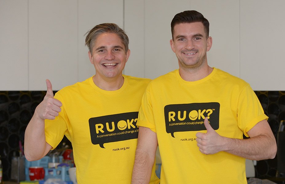 Will and Steve RUOK Ambassadors