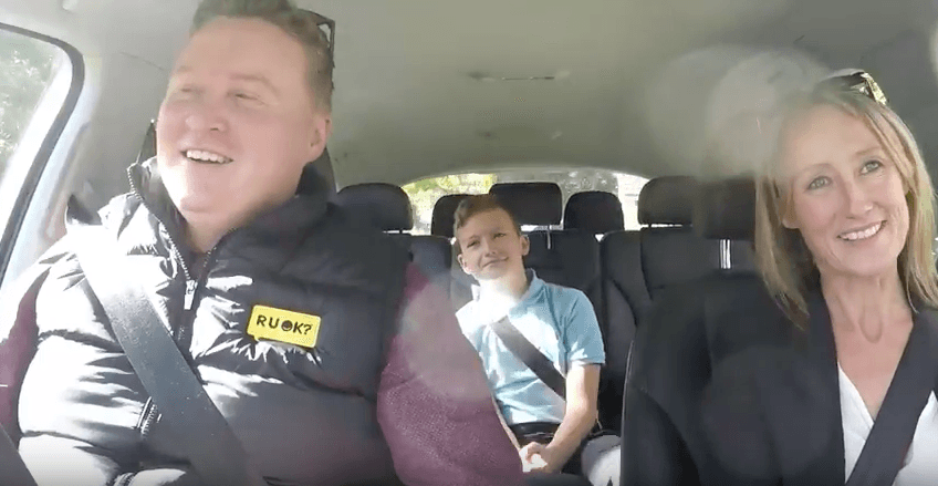 R U OK? Carpool Conversations: Maryann & Van Larkin image
