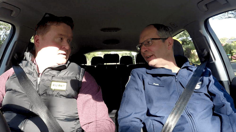 R U OK? Carpool Conversations: Paul McFarlane