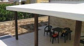 copertura terrazzo, pergolato, copertura in legno