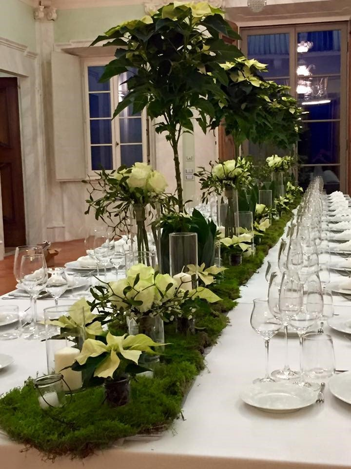 tavolo fiorito matrimonio