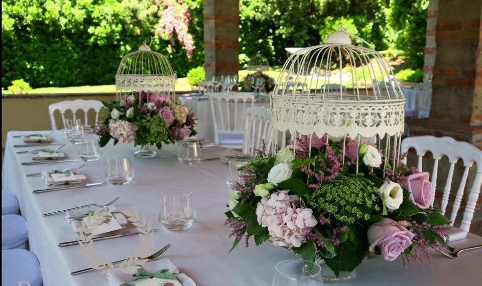 tavolo fiori