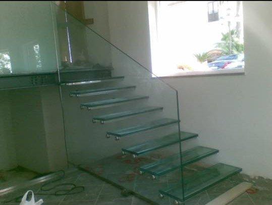 scala in vetro