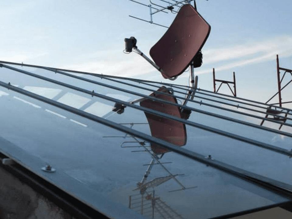 Tettoie in vetro
