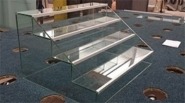 Costruzioni in vetro su misura
