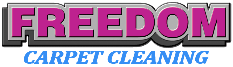 freedom carpet cleaning business logo