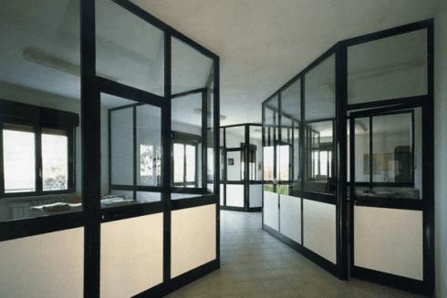 vetrate divisorie uffici