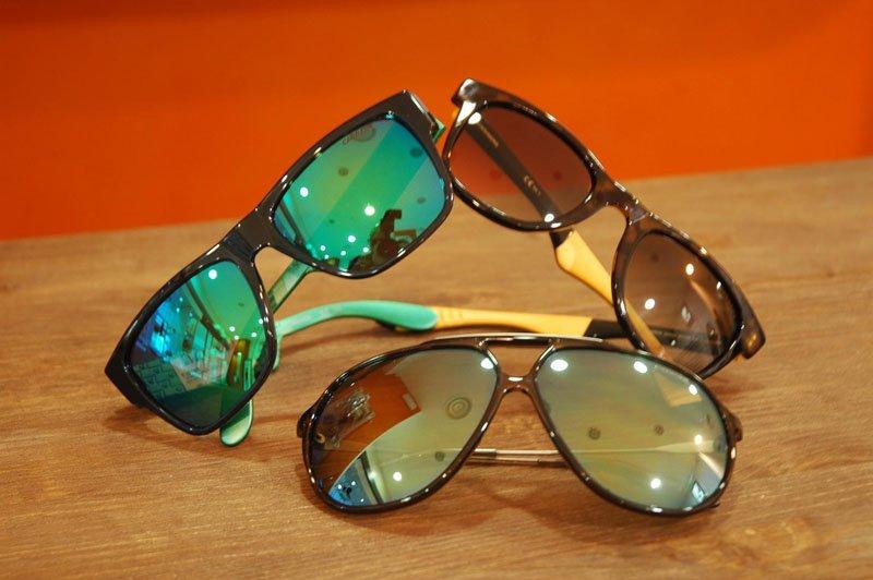 tre paia di occhiali